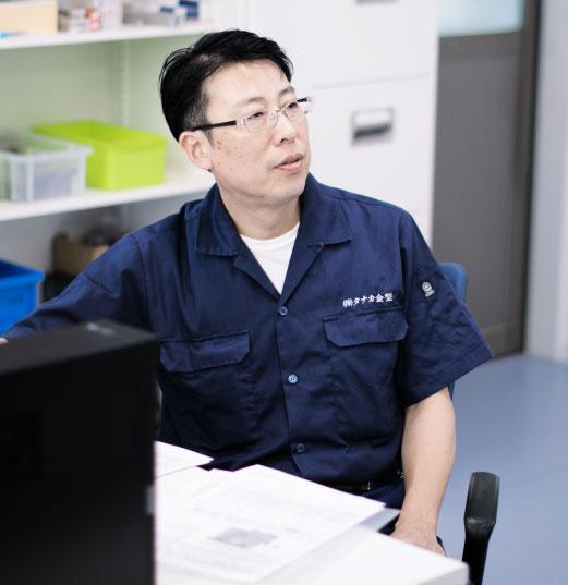 代表取締役社長 田中克芳
